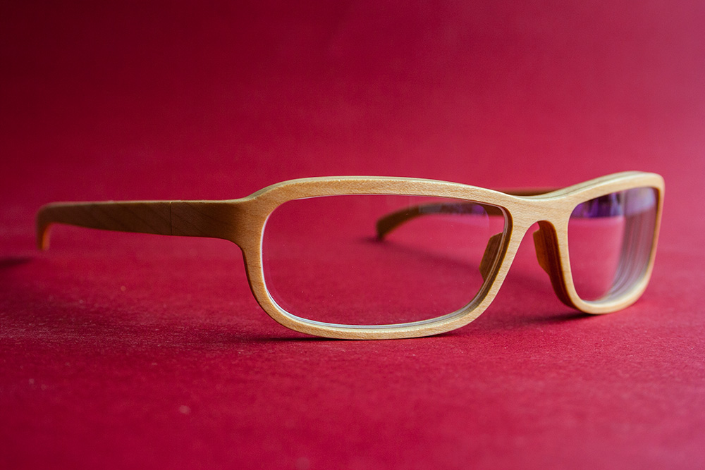 Holzbrille Rolf Miura
